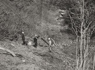 1957年(昭和32年)電源開発工事