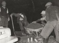 1958年(昭和33年)末沢PS工事