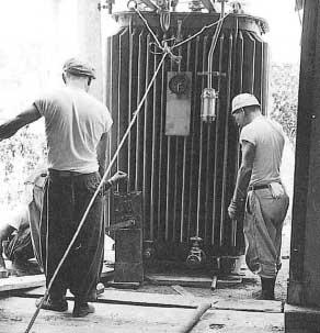 1960年(昭和35年)糸魚川変電所