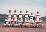 1985年(昭和60年)野球部写真