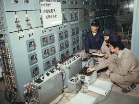 1986年(昭和61年)発変電現場