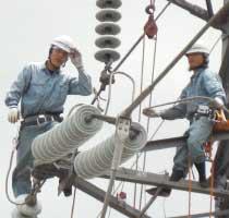 2008年(平成20年)送電現場